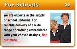 Highland Embroidery - for schools
