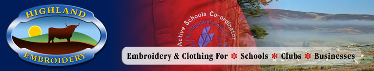Glowing customer testimonials for Luxury Embroidery and Clothing - Highland Embroidery