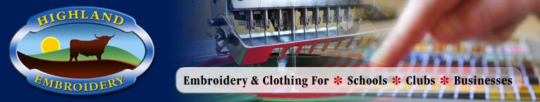 News. What's happening at the North's Premier Embroidery Company? - Highland Embroidery